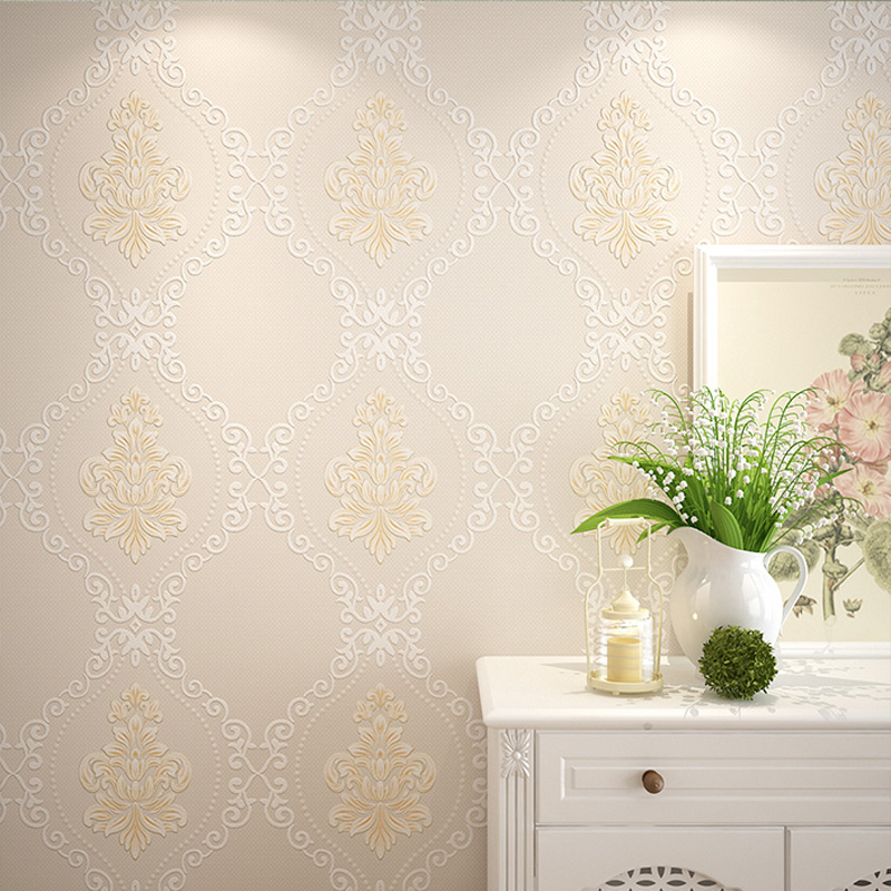 Wallpaper Mural Modern 3D Wallpaper Living Room Non Woven Wall Paper for Walls Bedroom Wallpaper Floral Roll 3D European Sofa beibehang embossed american pastoral flowers wallpaper roll floral non woven wall paper wallpaper for walls 3 d living room