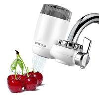 Home Kitchen Tap Faucets Ceramic Water Appliances Filter Water Purifier Strainer White
