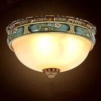 Европейский стиль потолочный светильник спальня ретро балкон проход ретро гостиная роскошные потолочные светильники Z123553