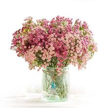 קטן מלאכותי דייזי קמליה Pu רך דבק פרחי פלסטיק פרח מסיבת בית תפאורה חתונה אביזרי מיני מזויף פרח מתנה