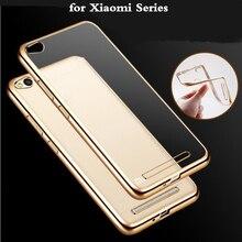 Ультра роскошные Покрытие Crystal Clear для Xiaomi Redmi 4A 4 pro 3 S 3x Case Мягкие TPU Крышка для Xiaomi Redmi note 4 4X Примечание 3 Случаях