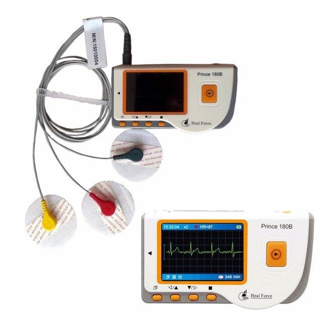 Home Use Health Care Portable handheld Heart Ecg Monitor