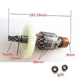 AC220-240V 7 zębów wymiana armatury dla HILTI TE70 TE-70 TE70 02 TE7002 silnik wirnika