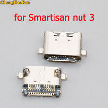 ChengHaoRan 1-5PCS for Smartisan nut 3 micro usb jack charging port socket connector repair parts(China)