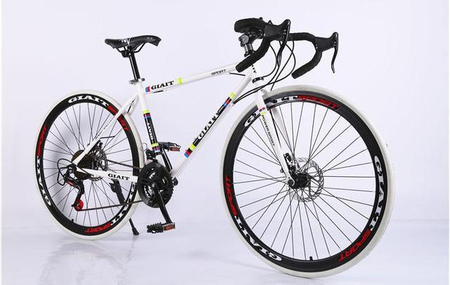 Сталь рама велосипеда дороги новинка 2016 Велосипеды Джерси Bicicleta велосипед 52 см мужчина и женщина велосипед 21/24/27 скорость дисковые тормоза 3