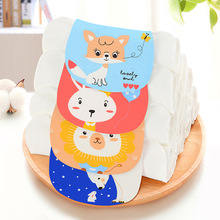2019 New 32*24cm Four-layer Childrens Sweat-absorbent Towel Cotton Gauze Every Sweat No Fluorescent Baby Products