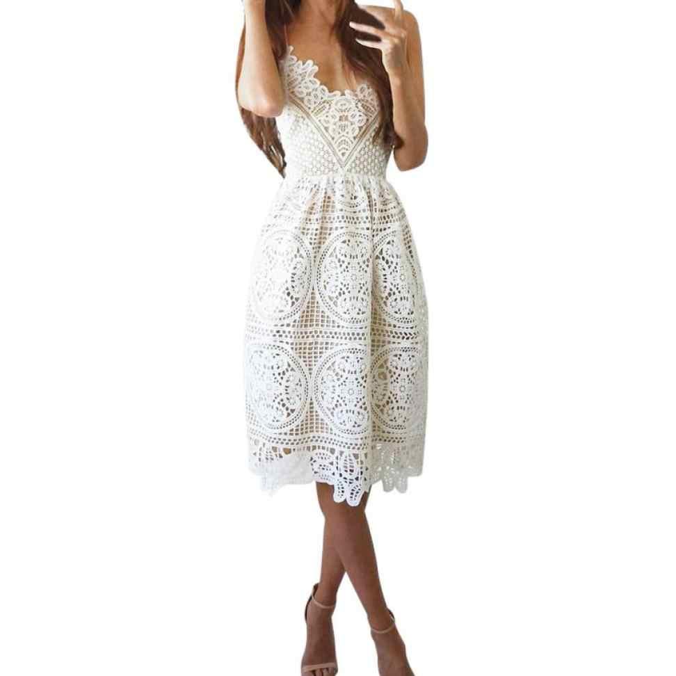 74450f17f81f3 Summer dresses women 2018 Fashion Formal Prom Party Ball Gown Cocktail  vintage Sexy Dress elegant sukienka sarafan vestido A55