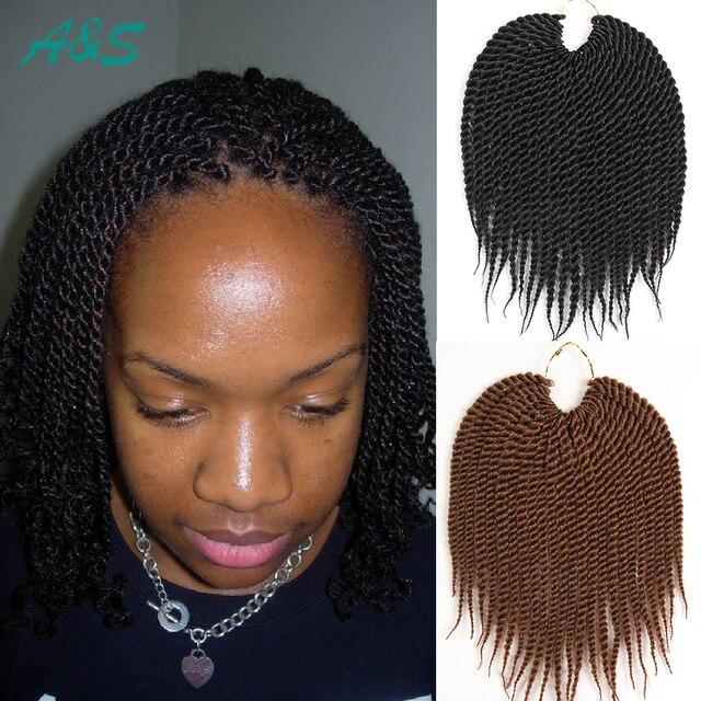 Natural Looking Crochet Braids Hair Extensions Short Bob Hairstyle