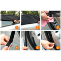 2017 High Quality Black Nylon Mesh Car Universal Type Front Rear Side Window Sunshade Sun Shade Visor Mesh High Quality