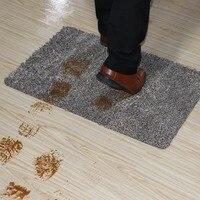 Indoor Super Absorbs Doormat Latex Backing Non Slip Door Mat for Small Front Door Inside Floor Dirt Trapper Cotton Entrance Rug