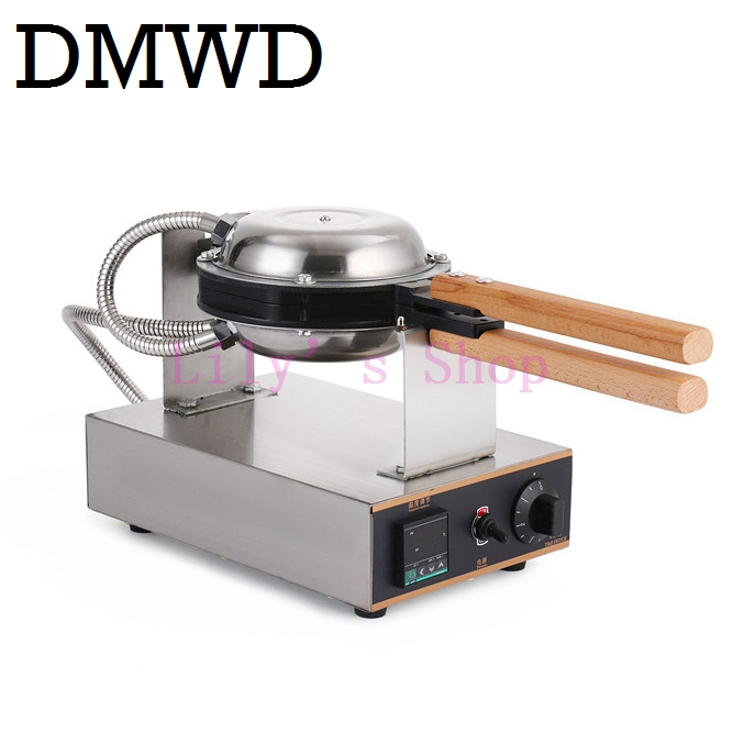 Digital display commercial Hong Kong electric egg waffle Maker kitchen QQ eggs Aberdeen omelet machine oven 110V 220V EU US plug three groups of kebab ovens commercial electric oven machine