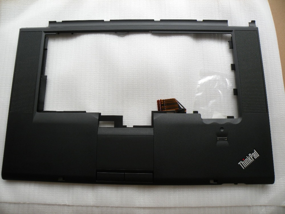 New Original Lenovo ThinkPad T510 W510 Palmrest keyboarad bezel cover W/TP FP  75Y4565 W/FPR 75Y4564 60Y5504 new original for lenovo thinkpad t460 palmrest keyboard bezel upper case with fpr tp fingerprint touchpad 01aw302