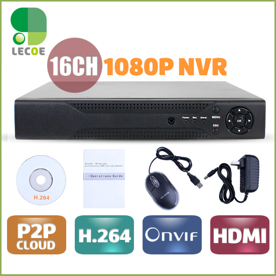 CCTV 16CH 2SATA NVR Onvif H.264 HDMI High Definition Full 960P HD 16channel Network Video Recorder CCTV NVR For IP Camera system jsa h 264 16ch nvr with 2sata 4ch 5mp mini nvr 1080p hdmi network video recorder for ip camera onvif p2p cloud iphone view