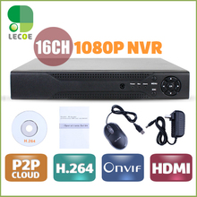 CCTV 16CH 2SATA NVR Onvif H.264 HDMI High Definition Full 960P HD 16channel Network Video Recorder CCTV NVR For IP Camera system