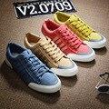 Новое Прибытие 2016 Высокое Качество Мужчины Обувь Дышащая Мужская Мода Повседневная Холст Обувь Zapatos Hombre Лучшие Продажи Обувь Размер 38-44
