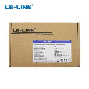 Image 5 - LR LINK 9722PT Çift Bağlantı Noktalı Gigabit Ethernet Ağ Adaptörü 1 Gb RJ45 Pci express Lan Ağ Kartı Intel I350 T2 Uyumlu NIC