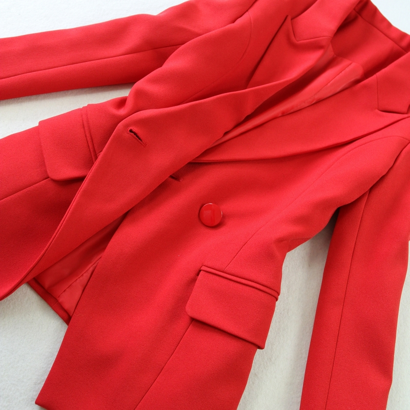 2018 spring summer Business Women 2 Piece interview suit set uniform Long sleeved Blazer and Pencil Pant Office Lady suits in Pant Suits from Women 39 s Clothing