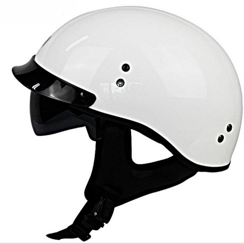 AMU motorcycle helmet half-covered glass steel helmet motorcycle scooter summer helmet men and women universal A9 easy ride kids 2 pedal scooter dual pedal scooter double pedal scooter with brake and musical light and safety helmet 7 safer