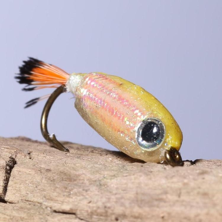 resin coated fish type fly fishing lures wet fishing flies mwb011