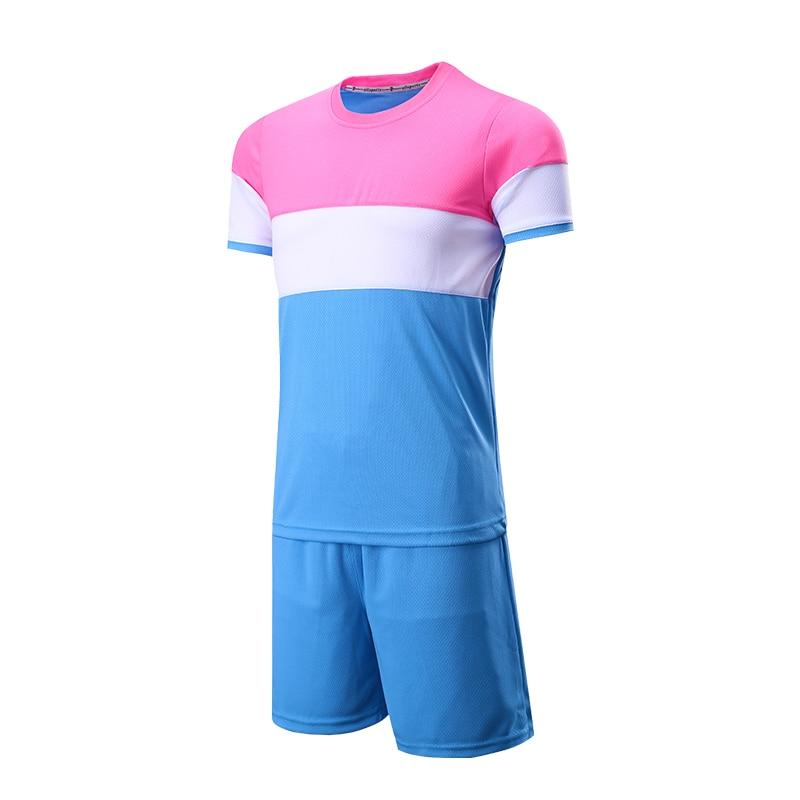 2017 New Survetement football uniforms Short Boys Kids Men Adult soccer jerseys training jersey set Girl DIY Printing Customized