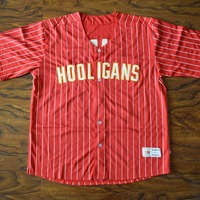 MM MASMIG Bruno Mars 24K Hooligans Baseball Jersey Stitched Red S M L XL XXL XXXL