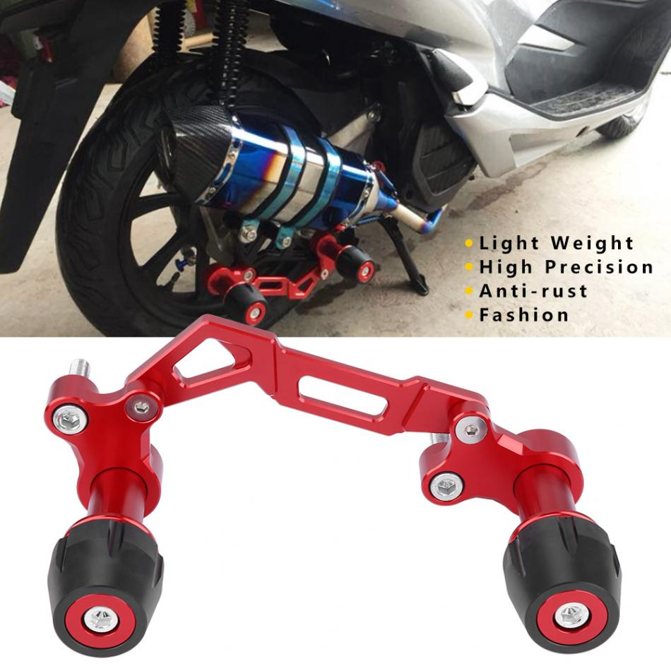 Cuque Motorcycle Adjustable Exhauster Protector Sliders Falling ...