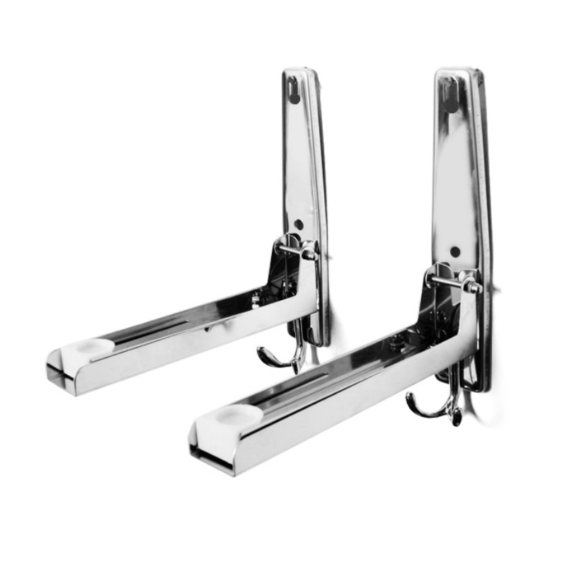 High Quality Thick 304 Stainless Steel Folding Microwave Oven Bracket Telescopic Shelf Hanging Bracket Free Shipping