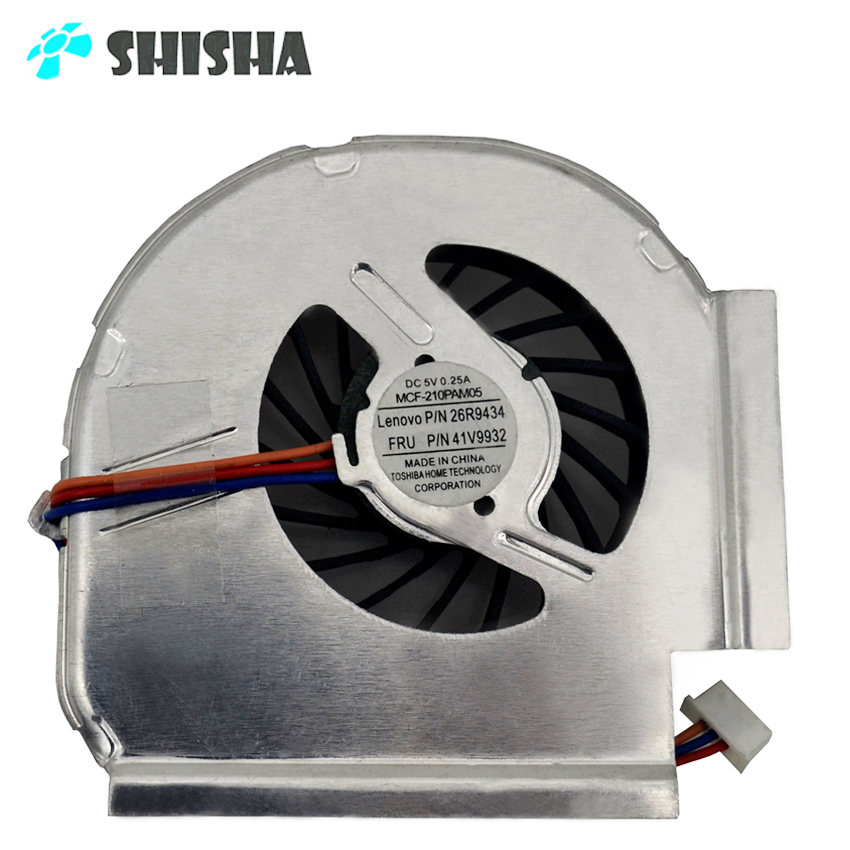 100pcs wholesale Brand new T410I T410S fan for Lenovo IBM thinkpad T61 T61P laptop cooler f0125 T400S T410 T410SI cooling fan