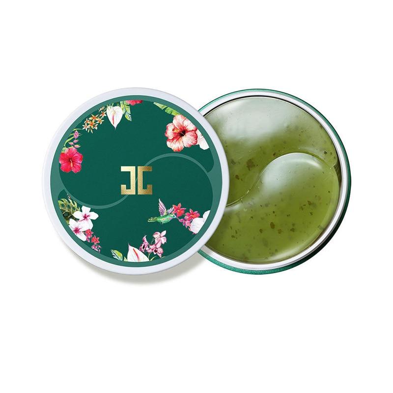 Korea Cosmetics Green Tea Eye Gel Mask Patch 60pcs Eye Mask Moisturize Ageless Anti Wrinkle Eye Bags Dark Circles Face Care Mask