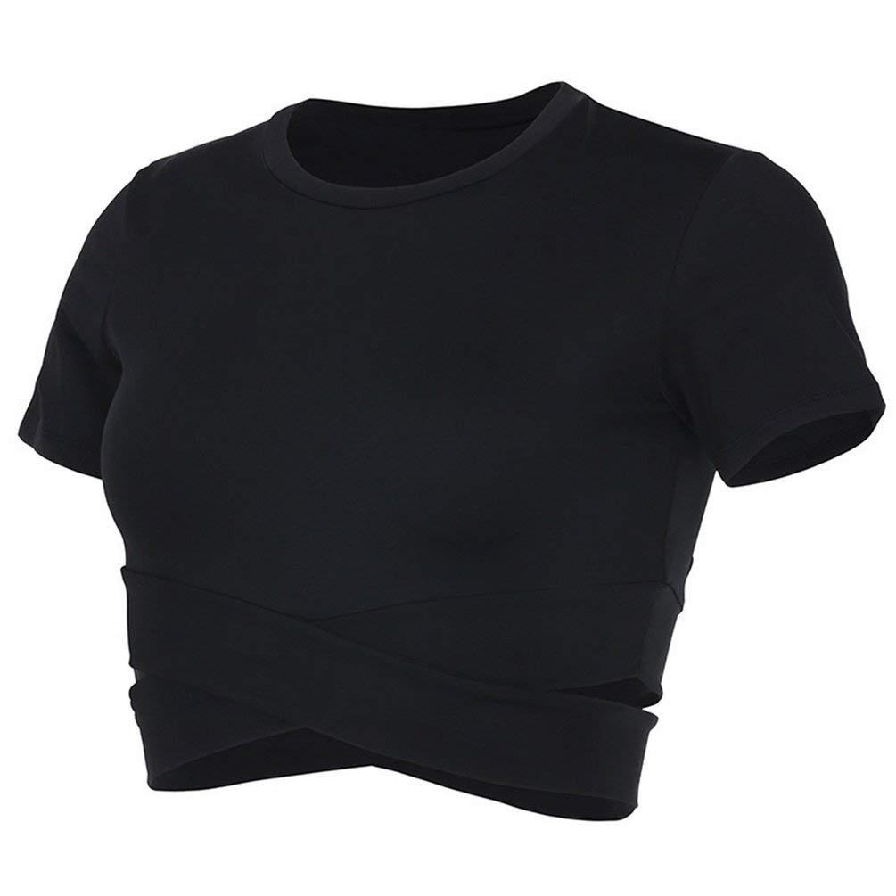 13 조각 여성 운동복 요가 셔츠 운동 실행 상위 전체 코 튼 캐주얼 짧은 appliques 동물-에서티셔츠부터 여성 의류 의  그룹 1
