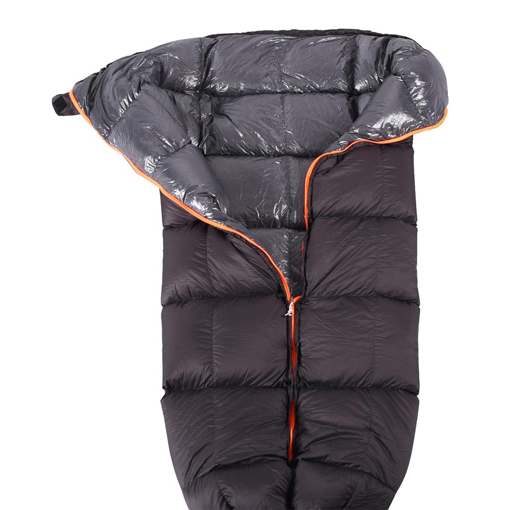 Ultra Light Down Sleeping Bag Adult Outdoor Camping Duck Down Sleeping Bag Autumn/winter Warm Splice Warm Hammock Double Zipper Sports & Entertainment Camping & Hiking