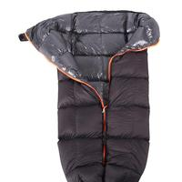 Ultra Light Down Sleeping Bag Adult Outdoor Camping Duck Down Sleeping Bag Autumn/winter Warm Splice Warm Hammock Double Zipper