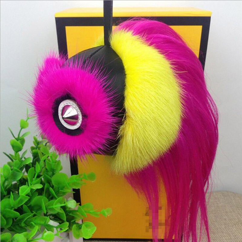 top 10 monster fur pom pom ideas and get free shipping - 985c4mh9