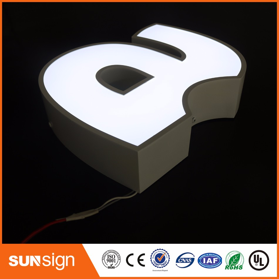 Aliexpress Factory Outlet Outdoor Acrylic LED Luminous Letter Sign