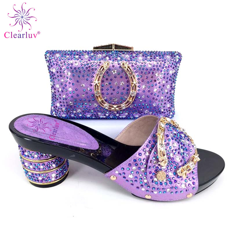 9cc0256101cbd Calidad Zapato Cristal rojo Y rosado Bolsa púrpura Encuentro Alta naranja  De Zapatos A Con amarillo ...
