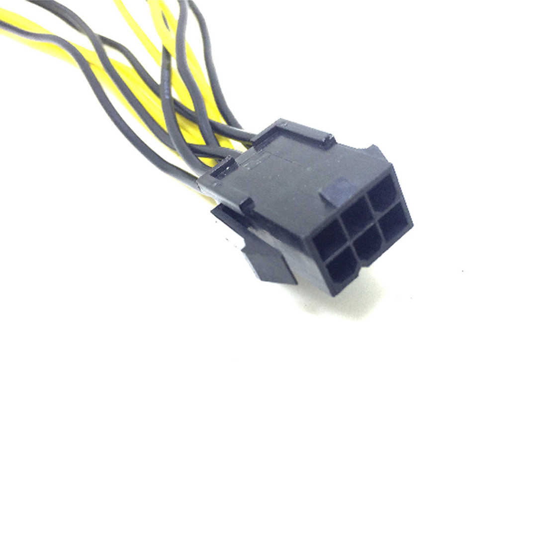 Marsnaska 6-pin pcie pci express ل 2x8 (6 + 2) دبوس اللوحة رسومات الفيديو بطاقة pci-e gpu vga الخائن كابل الطاقة