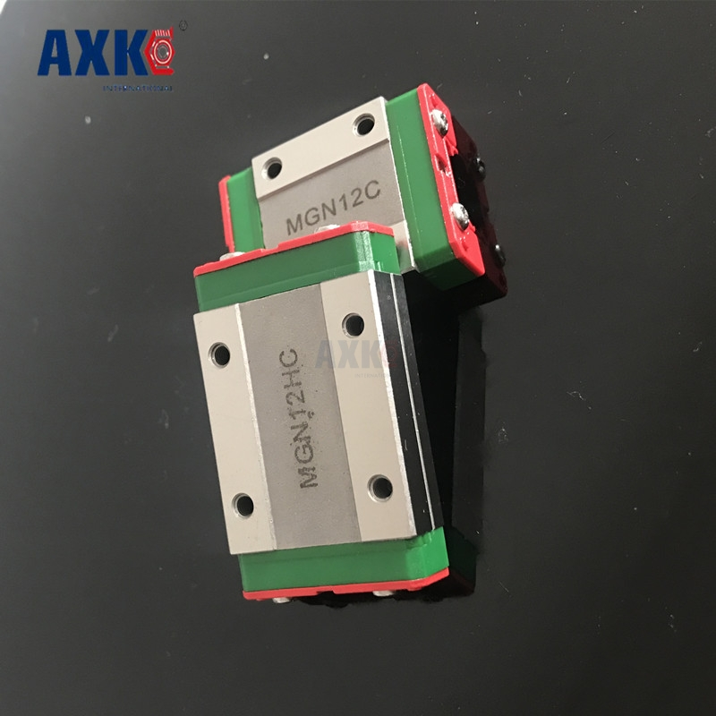 Mgn12c Linear Bearing Sliding Block Match Use With Mgn12 Linear Guide For Cnc Xyz Diy Engraving Machine