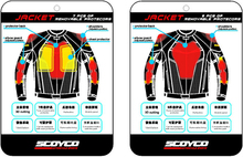 Scoyco JK40 Flexible Full Body Armor Motorcycle Jacket Motor Racing Biker Armor protector M~3XL Free shipping