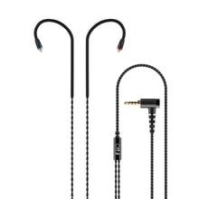 FiiO RC MMCX3B החלפת כבל סטנדרטי MMCX איזון 2.5mm מחבר אוזניות שדרוג קו עבור Shure/Westone/JVC/fiiO