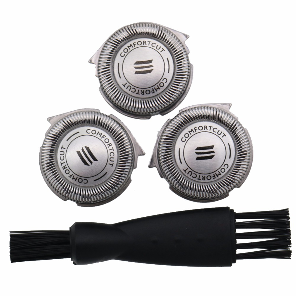 3pc Replacement Shaver Head For Philips HQ7260 HQ7240 HQ7200 HQ7180 AT810 AT830 AT890 7735X 7737X 7745X PT715 PT720 PT730 HQ8890