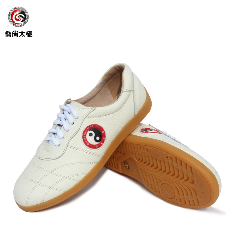 Tai Chi Shoe Martial Art Shoes Ox Tendon Soft Bottom Cowhide Inside And Outside Full Skin