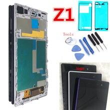 Оригинальный 5,0 »черный белый ЖК для SONY Xperia Z1 Дисплей Сенсорный экран планшета L39H C6902 C6903 для SONY Xperia Z1 Дисплей