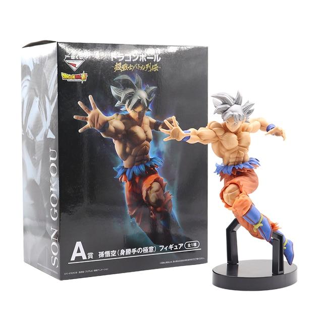 21.5 centímetros Figuras de Ação De Dragon Ball Z Super Saiyan Goku Anime Dragonball Mestre Figurine Collectible Toy Modelo Para Crianças # E