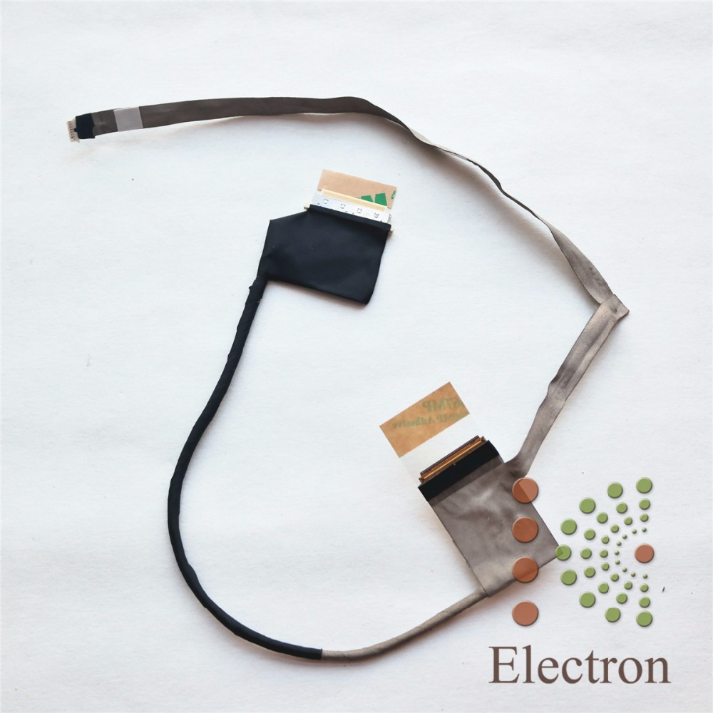 Display cable LCD screen Video cable for DELL Inspiron 5520 5525 7520  DC02001GD10 frre shipping ноутбук dell inspiron 3567