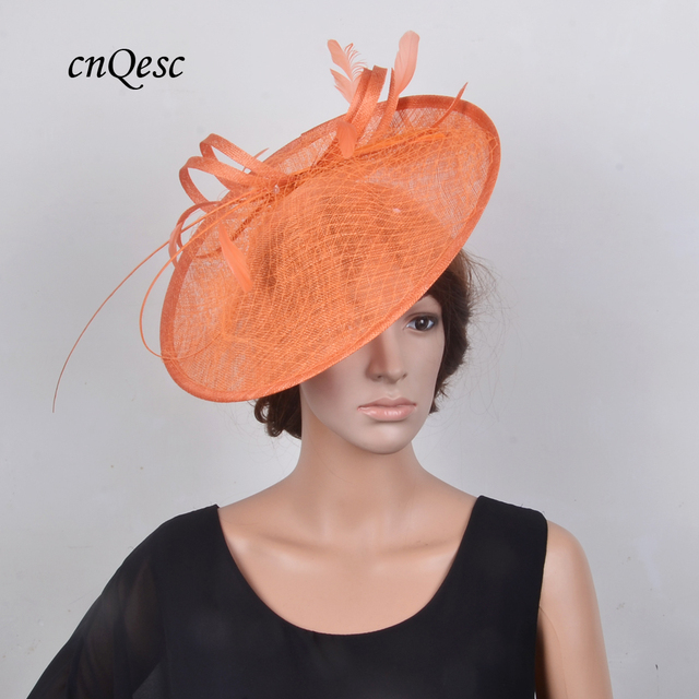 NEW 16 colours Big Sinamay fascinator hat for Kentucky Derby ... a7d9c592ce9f