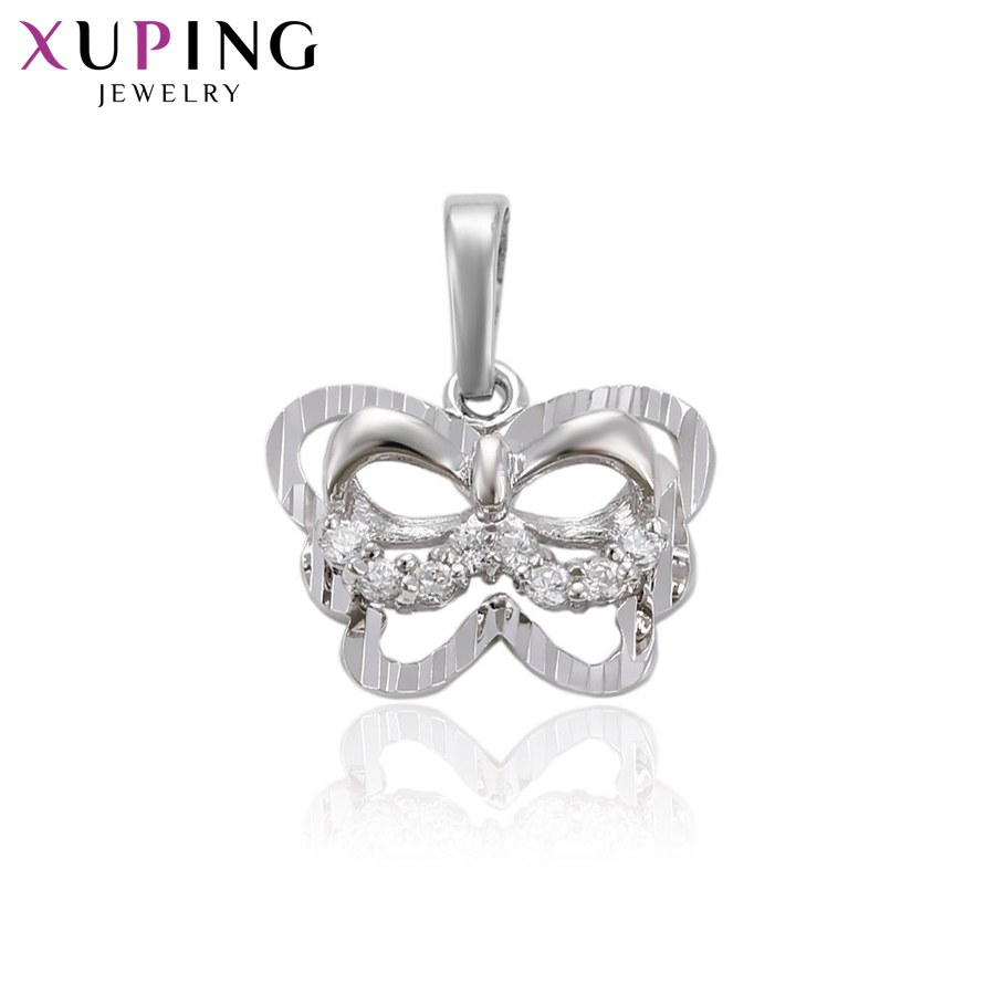 11.11 Deals Xuping Fashion Animals Shape Series Pendant With White Synthetic CZ for Girl Christmas Day Gift Jewelry S71,1-30305