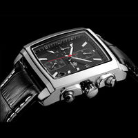 SIHAIXIN Chronograph Function Watch Genuine Leather Men S Watch Luxury Top Climbing Mark Military Watch Watch