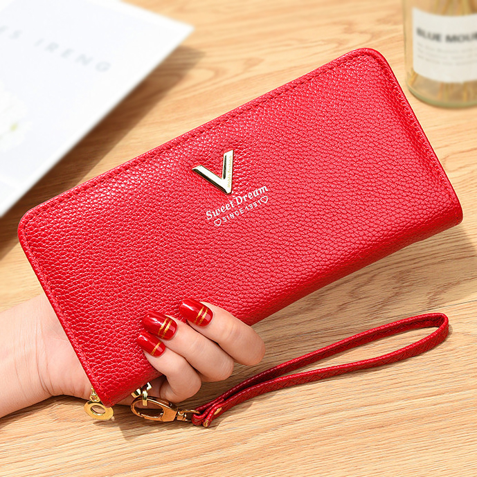 Luggage & Bags Lower Price with Sweet Ladies Zipper Hasp Purse Small Change Card Holders Simple Fashion Women Female Short Pu Leather Wallet Popular Ab@w3