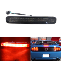 Car Styling One Piece Smoke Lens Led Third Additional Brake Light Lamp For Ford Mustang 05