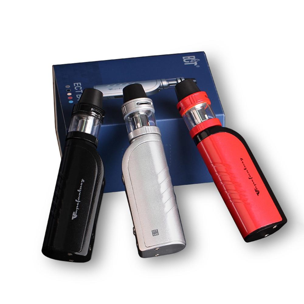 Original ECT B40 Mod Kit 40W Electronic Cigarette Starter Kit 2200mAh Battery 510 Thread Metal Body Vaper Kit 0.3ohm 2ml Tank